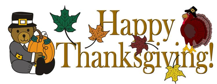 happy thanksgiving clip art - photo #47