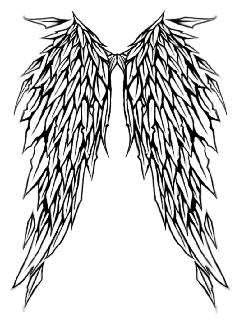 Angel Stencil Clipart Best