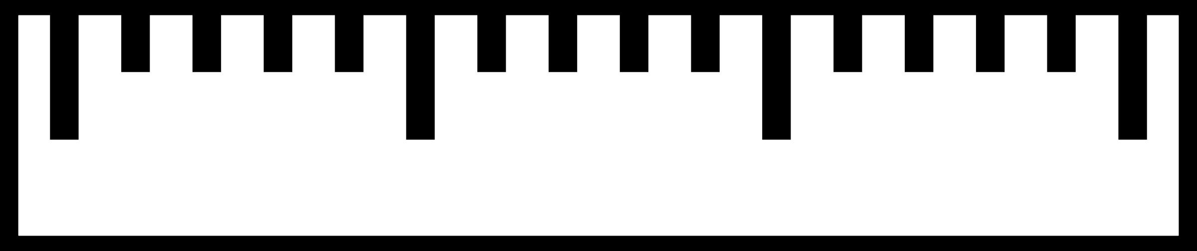 computer ruler