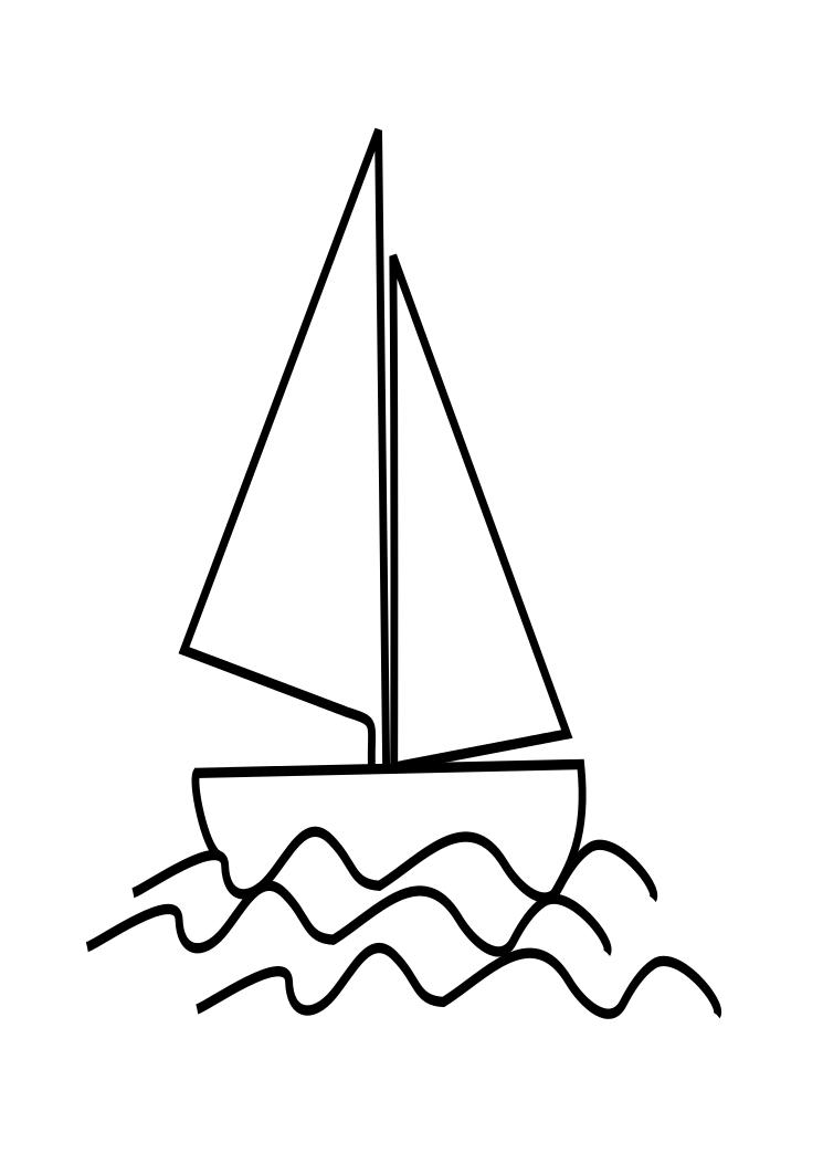Line Art Boat : Boat drawing clipart best