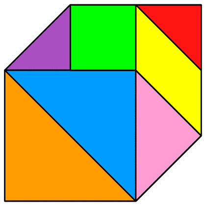 Tangram Cube - Tangram solution #11 - Providing teachers and ...