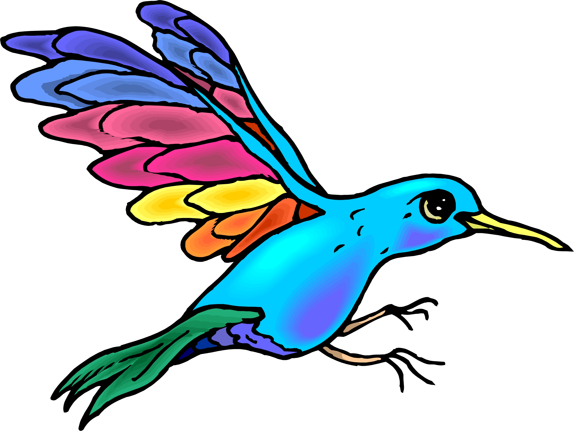 Cartoon Birds Flying - ClipArt Best