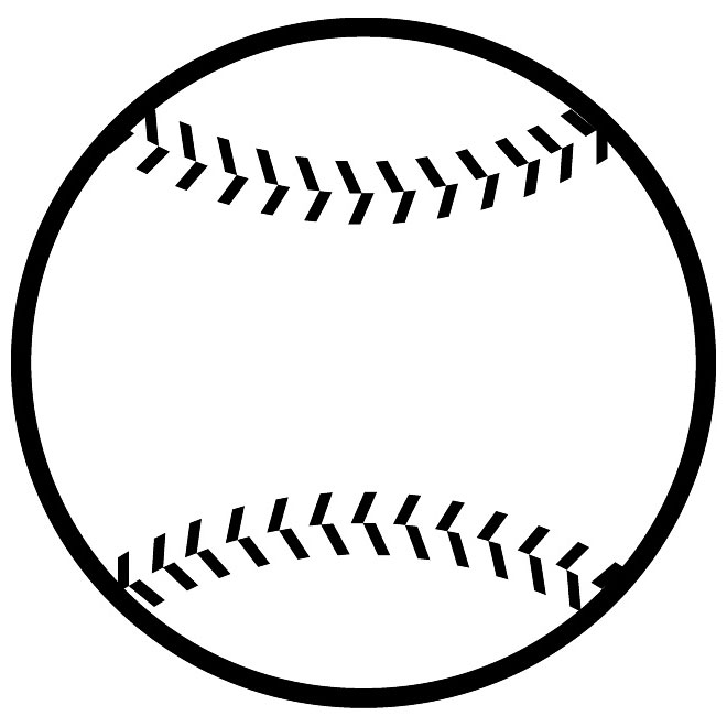 Softball vector clipart best for Softball vector free download