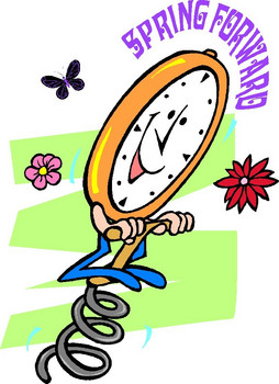 Spring Ahead - ClipArt Best