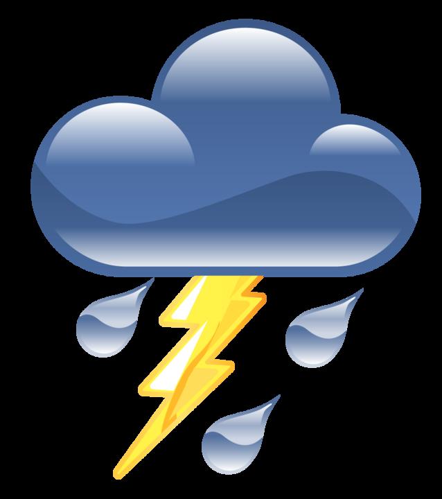 Clip Art Thunderstorm Clipart symbol for thunderstorm clipart best clipart