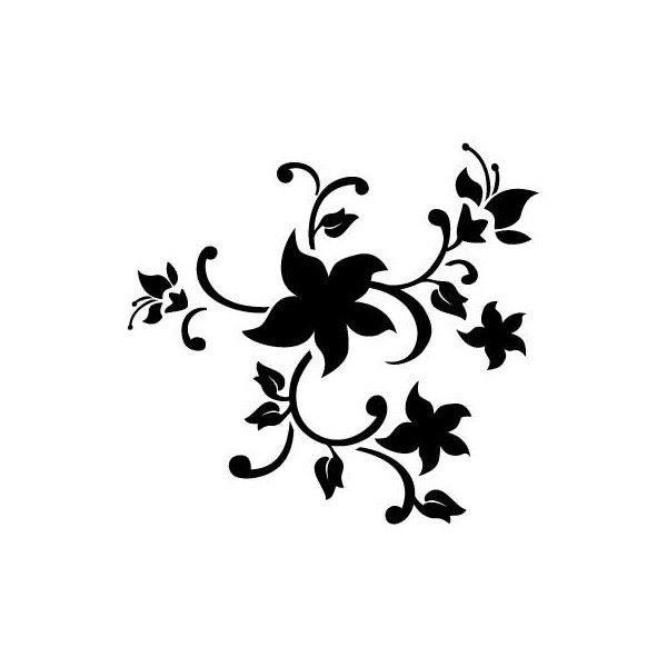 Free Printable Flower Stencil Templates