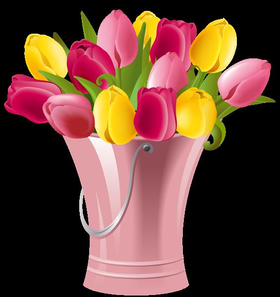 spring tulips clip art clipart best