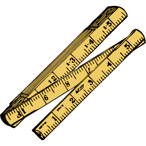 Centimeter Ruler Clip Art - Royalty Free - GoGraph