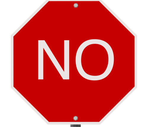 Say No Sign - ClipArt Best