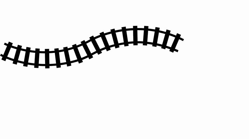 Curved Train Tracks Clipart Clipart Best Clipart Best