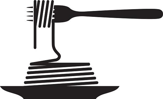 fork pasta vector clipart best