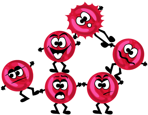 Red Blood Cell Cartoon - ClipArt Best