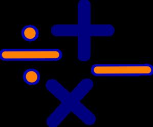Math Symbols Clipart -...