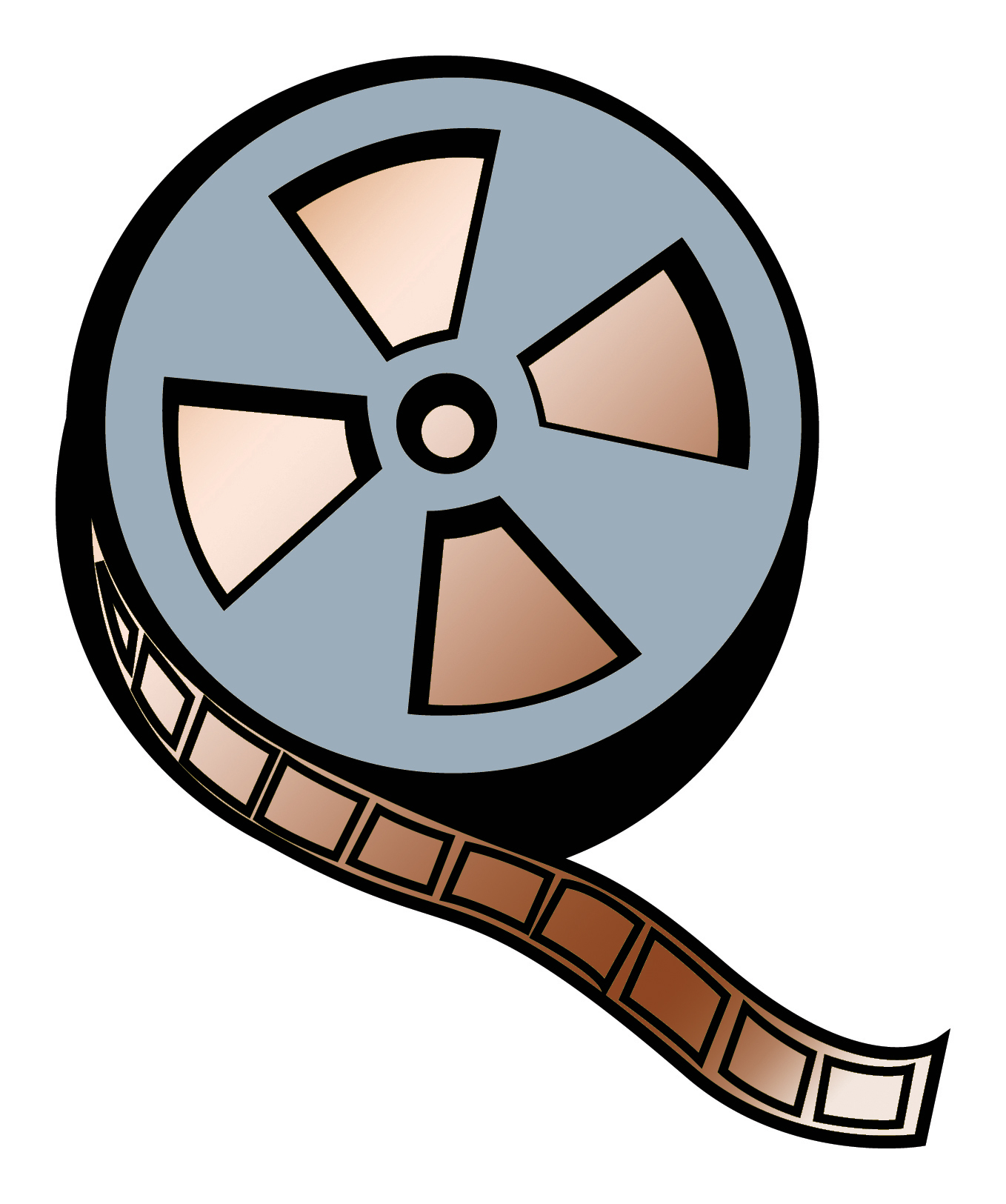 12 movie reel vector free cliparts that you can download to you ...