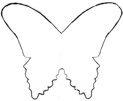 Butterfly Template Printable - ClipArt Best