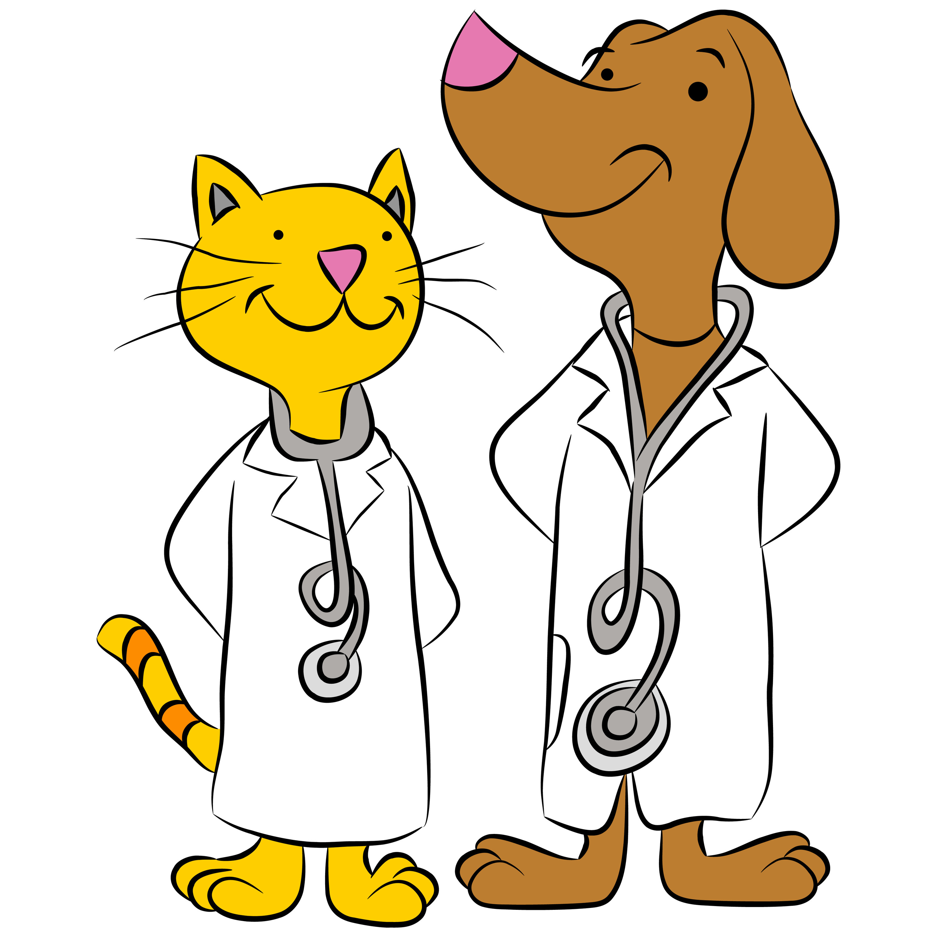 clip art free dogs and cats - photo #28