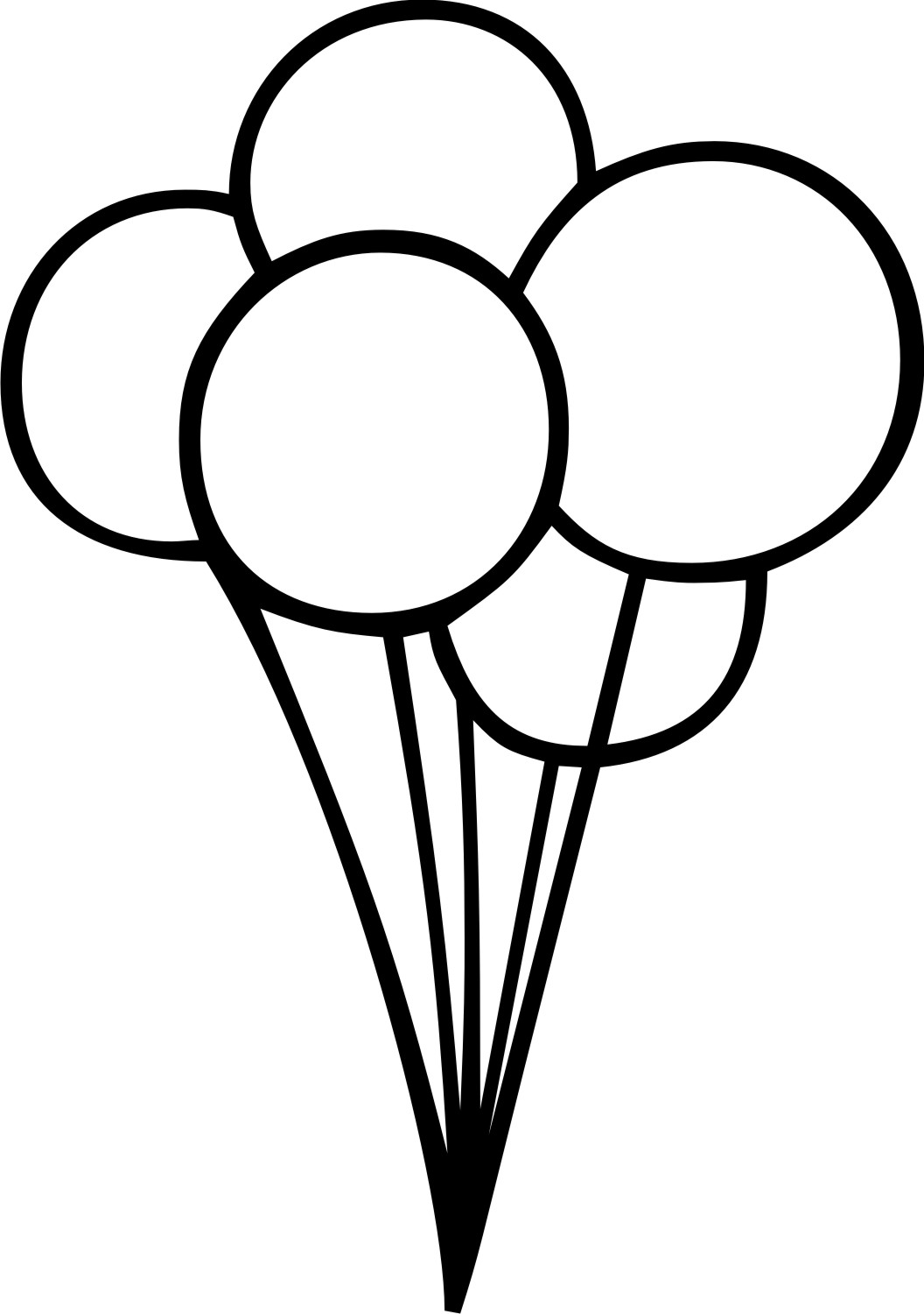 Balloons And Strings Clipart - ClipArt Best - ClipArt Best