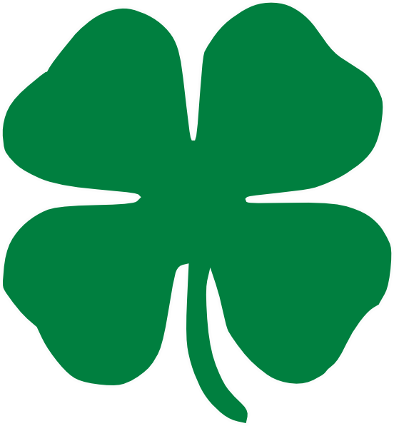 Four Leaf Clover Clip Art Vector Online Royalty Free - Free ...