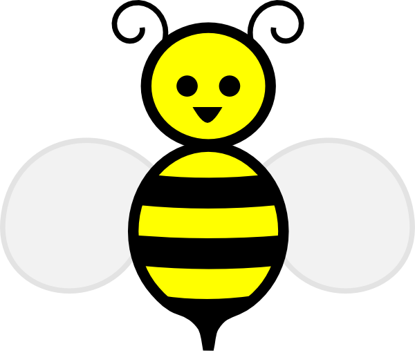 royalty free bee clipart - photo #5