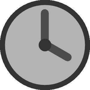 Clock clip art - vector clip art online, royalty free & public domain