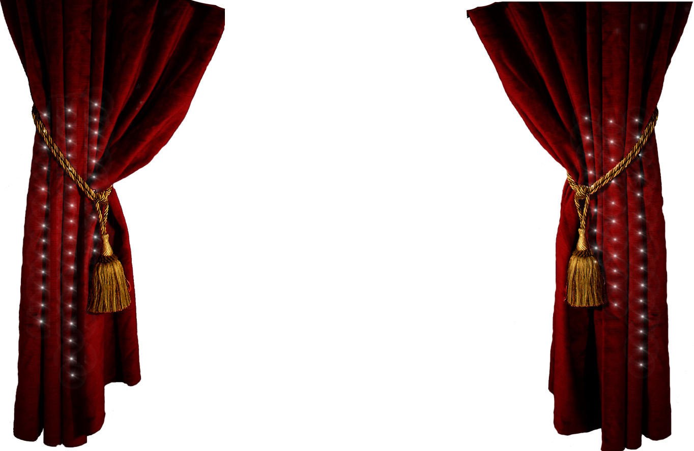 Theater Stage Clipart Stage curtains png