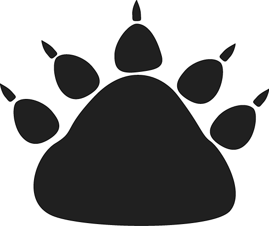 Animal Paw Prints Pictures Clipart Best
