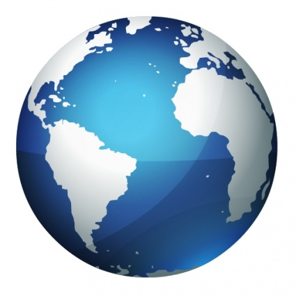 World Globe Vector - ClipArt Best