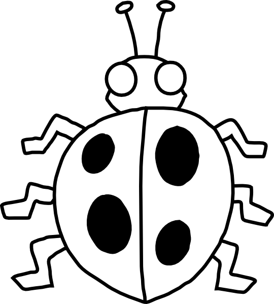 free lady bug black and white clip art clipart best black white clip art collection black white clip art bed