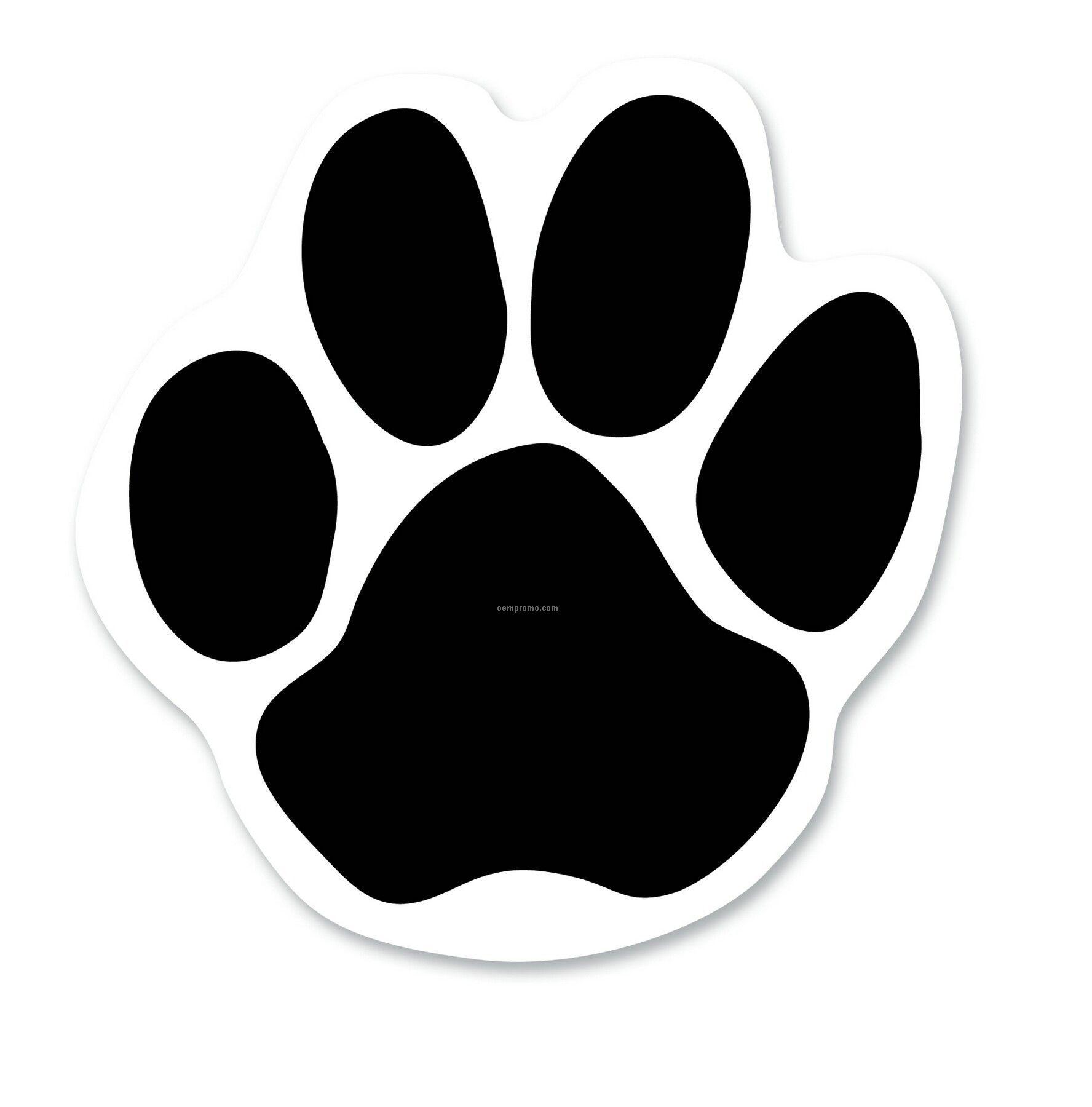 Effortless image regarding free printable paw prints