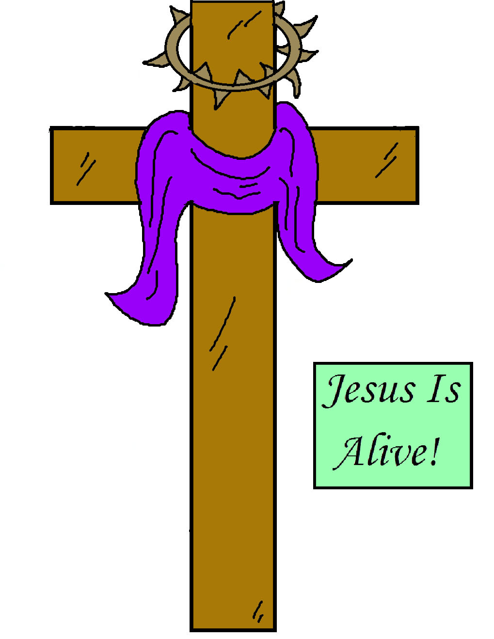 Clip Art Jesus Resurrection - ClipArt Best