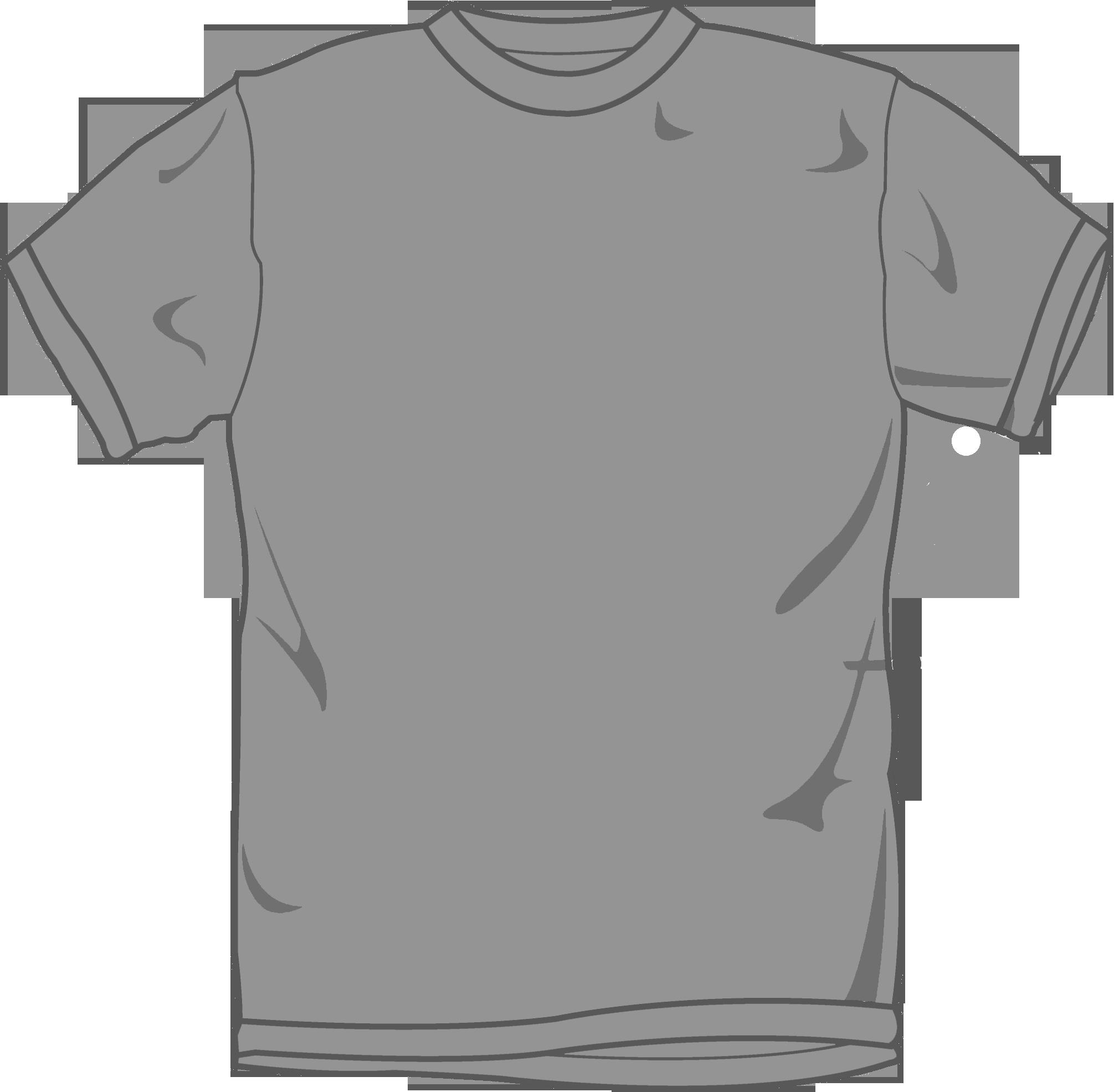 Blank Grey T Shirt Clipart Best