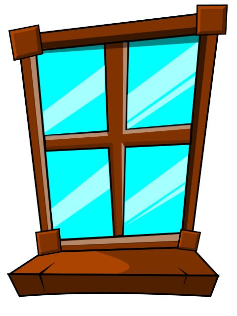 Glass Window Clip Art : Cartoon window clipart best