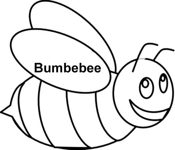 Bumble Bee Outline Page 1 - ClipArt Best - ClipArt Best