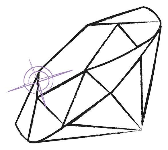 diamond drawing clipart best