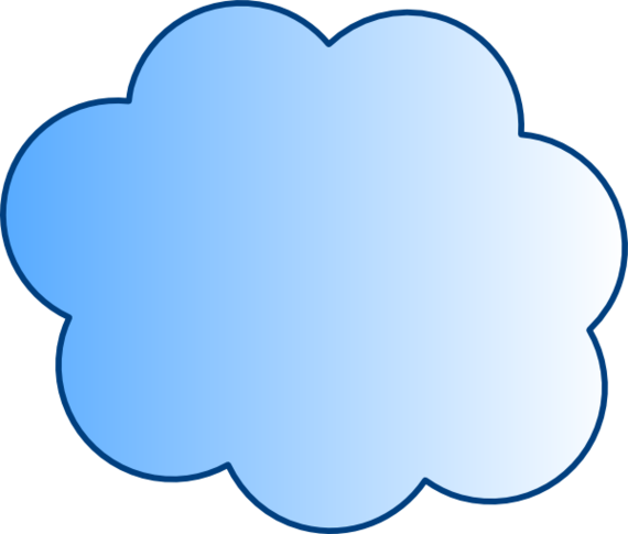 visio stencil cloud clipart best
