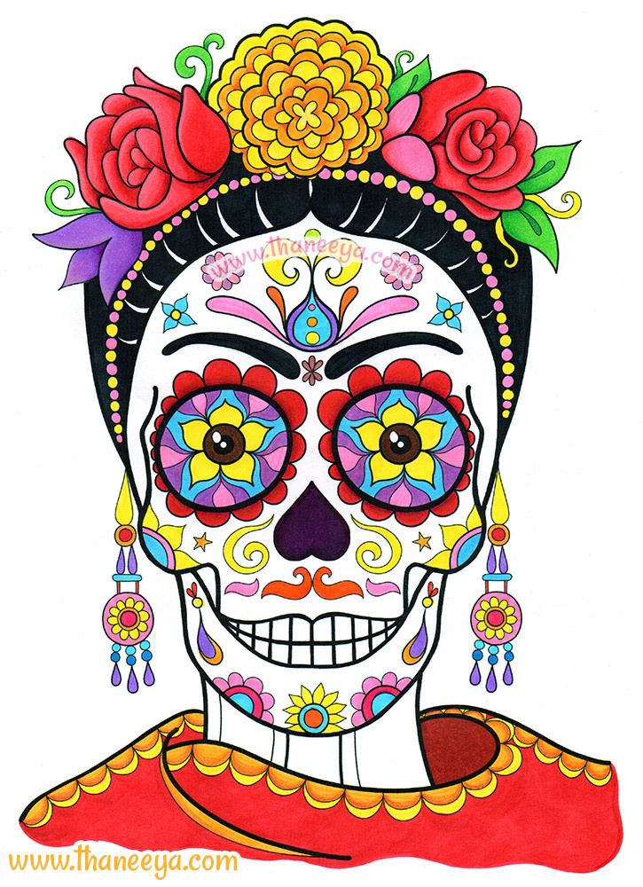 Day Of The Dead Clipart - ClipArt Best