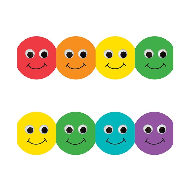 Classroom Borders With Smiley Faces | Bulletin Board Borders ...