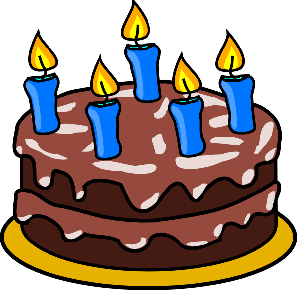 Happy Birthday Cartoon Cake Birthday Cake Clip Art ...