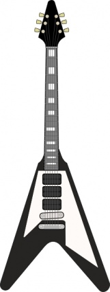 Flying V Guitar clip art - Download free Music vectors