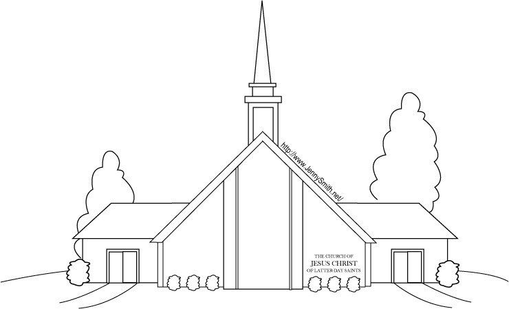 coloring pages church of christ - photo#3