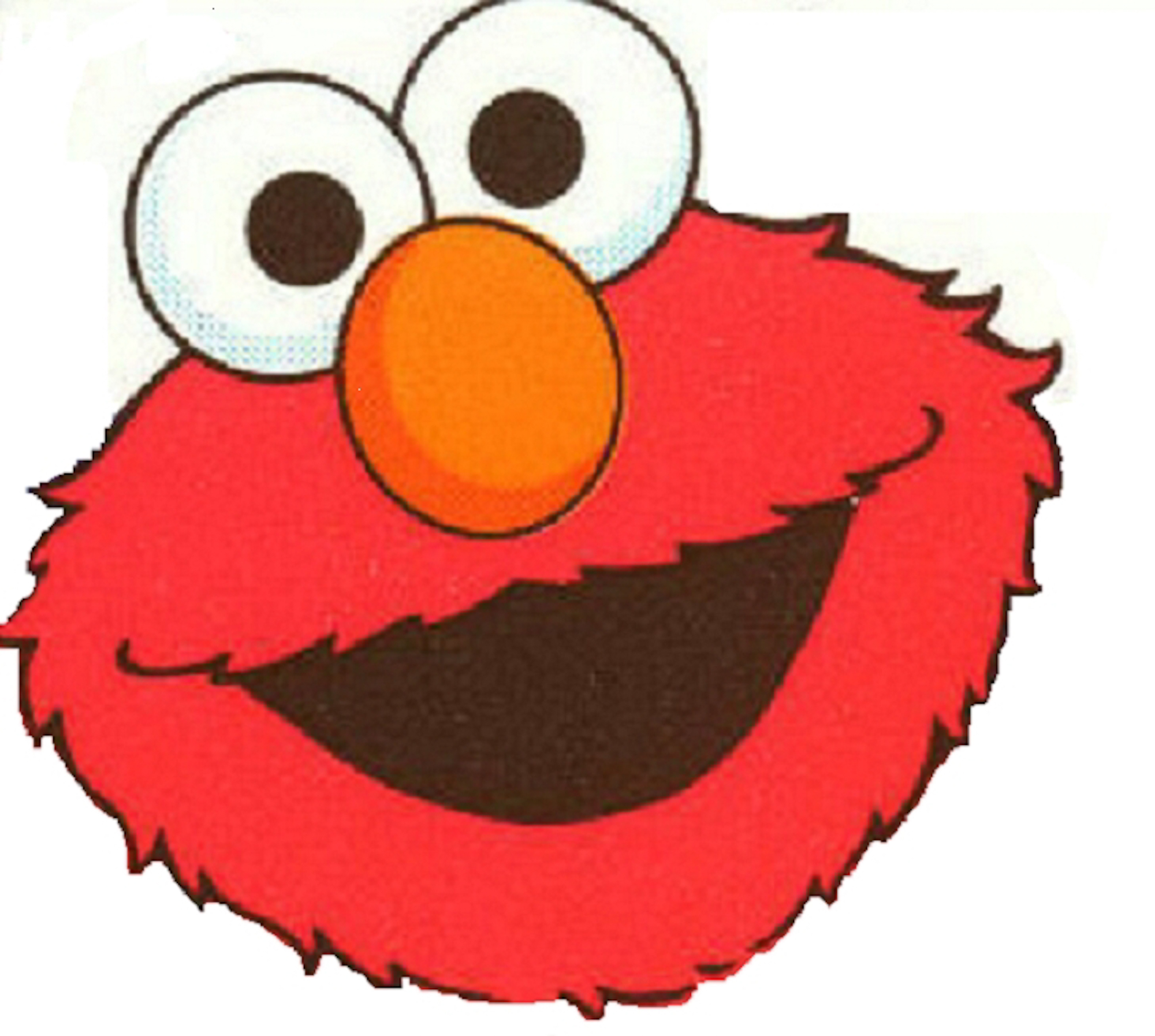 Free Printable Elmo Face Template Clipart Best