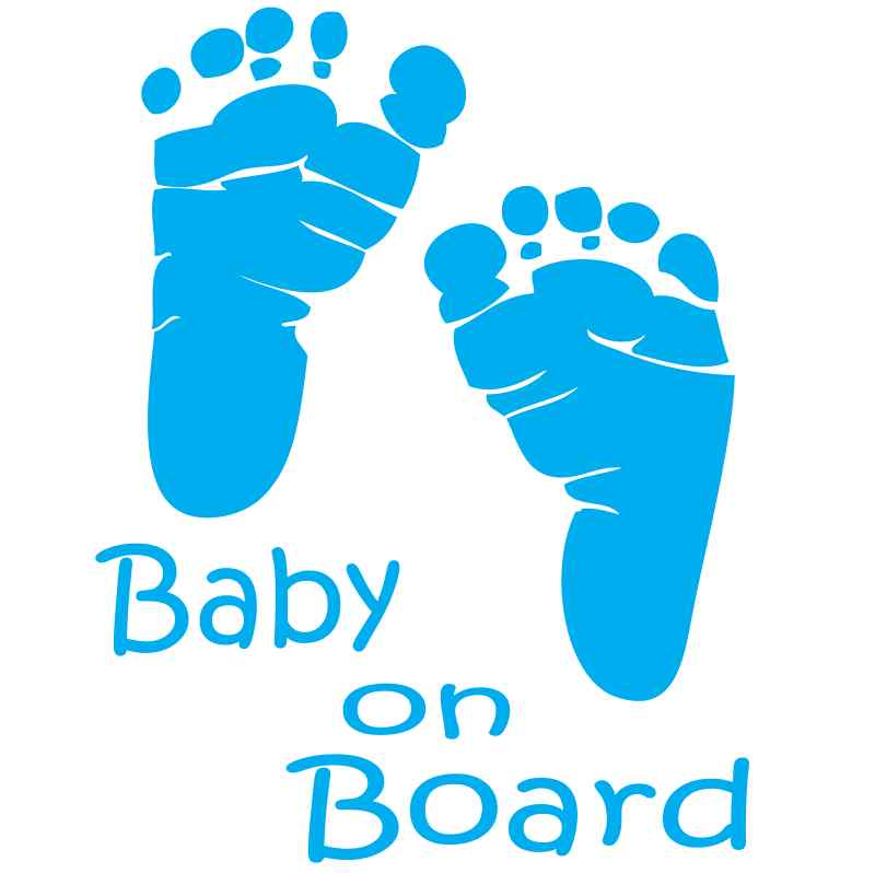 Baby On Board Bod004 China Boardwarning Boardbaby Safety ...