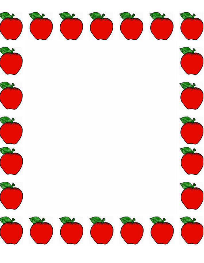 It is a photo of Unforgettable Free Printable Borders for Teachers