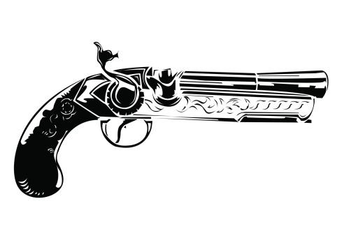 hand gun tattoos clipart best. Black Bedroom Furniture Sets. Home Design Ideas