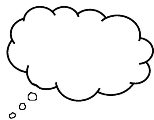 Clip Art Thought Bubble Clip Art printable thought bubbles clipart best 2 clipartix