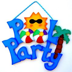 Swimming Pool Party Clip Art - ClipArt Best