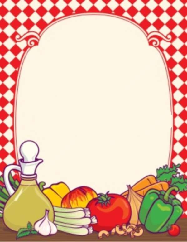 Food Borders - ClipArt Best
