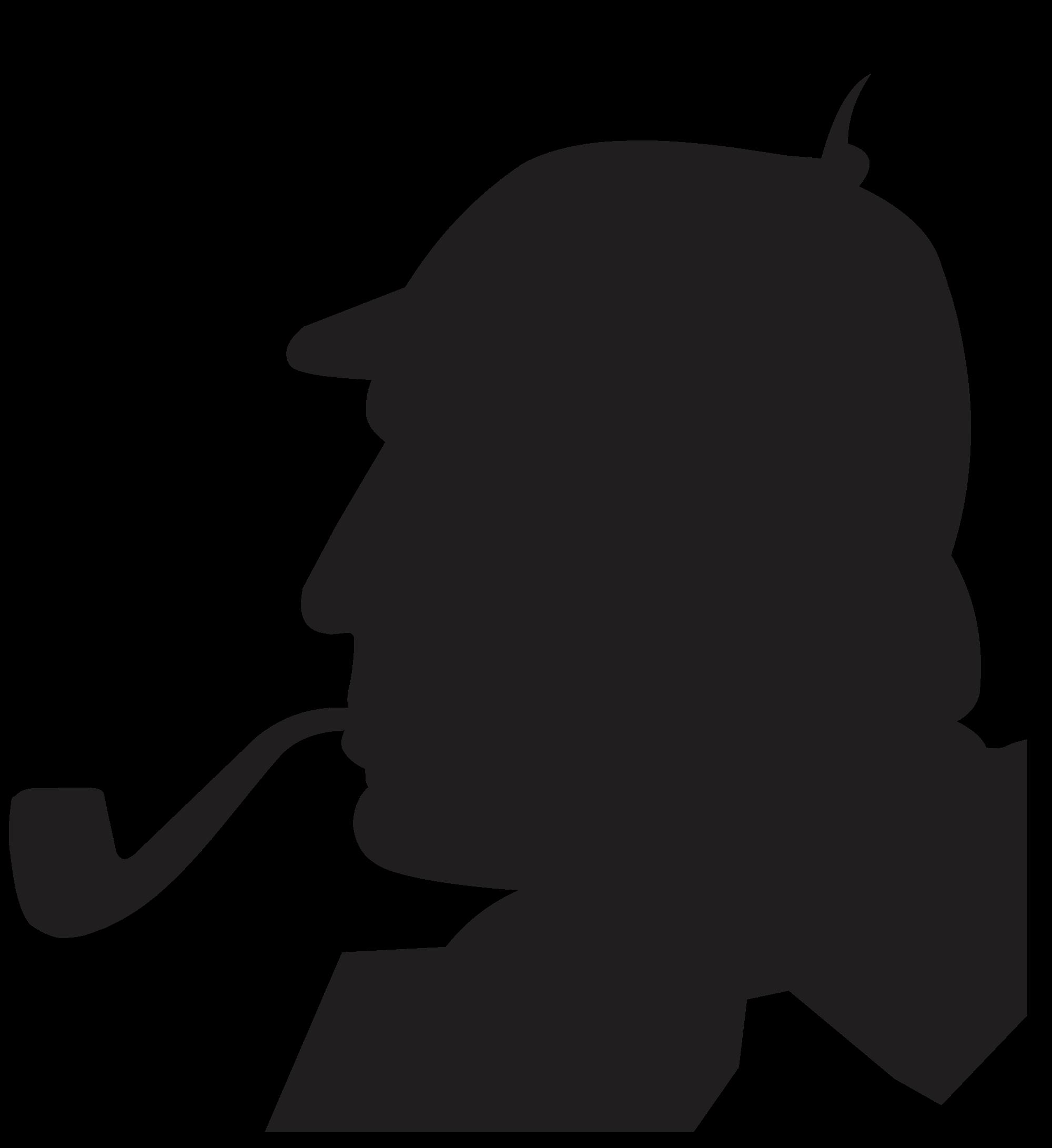 sherlock and silhouette clipart best sherlock holmes clipart free download sherlock holmes clip art free download