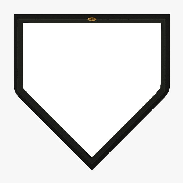 Home Plate Dimensions - ClipArt Best