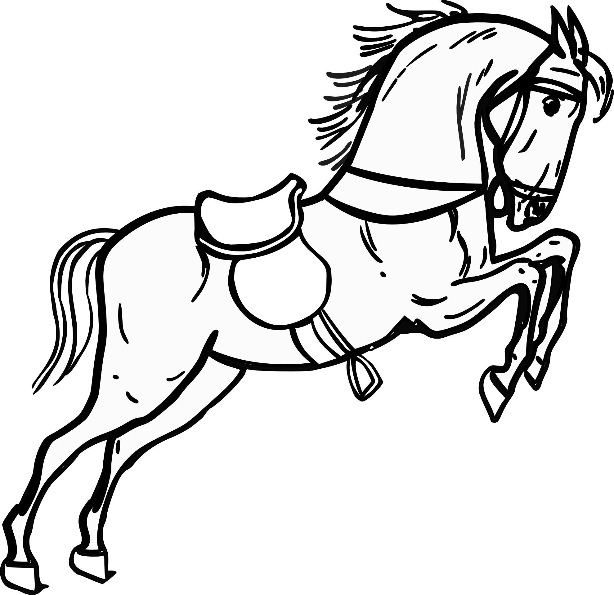 Horse Clip Art Black And White Free Clipart Images Clipart Best Clipart Best